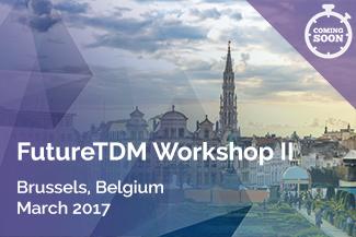 FutureTDM-Workshop-II