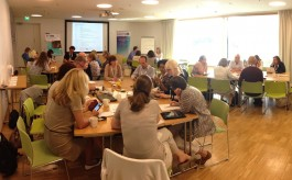 Participants at the Helsinki knowledge cafe deliberate TDM barriers