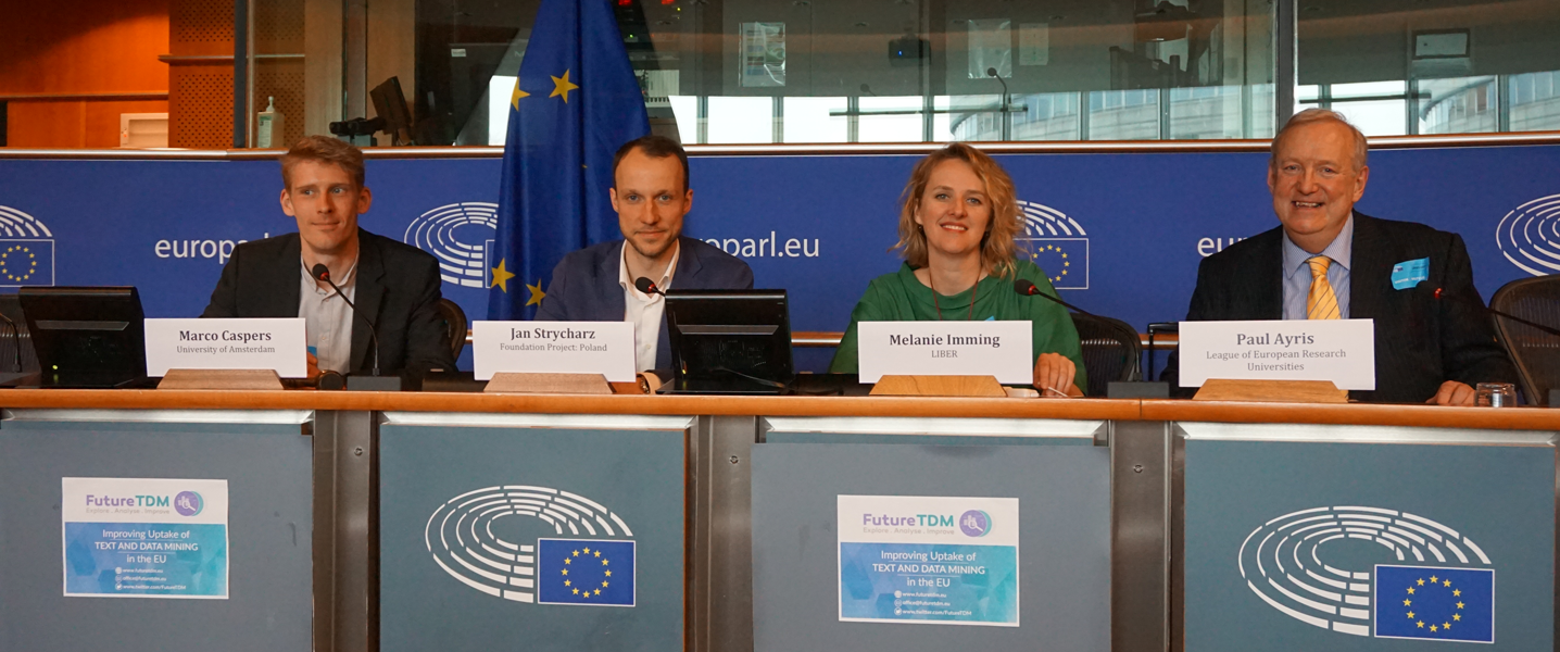 FutureTDM Workshop II at the European Parliament